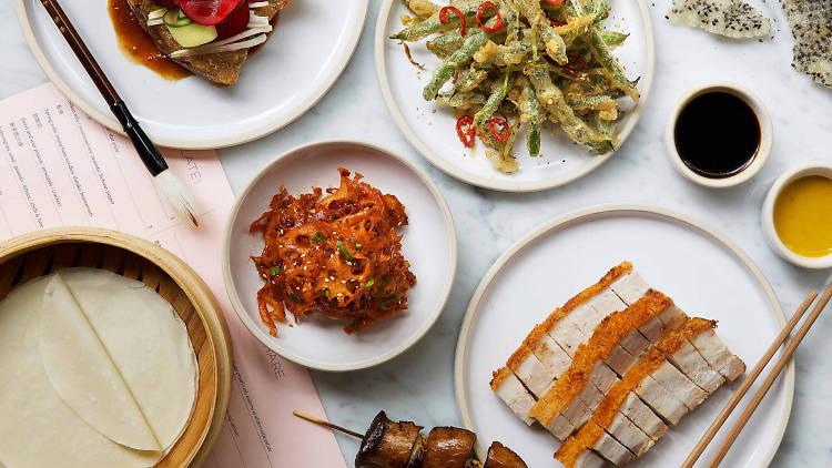 Comida asiática en la Cuauhtémoc