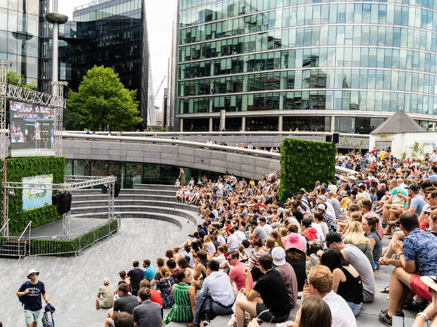 Wimbledon tennis screenings in London