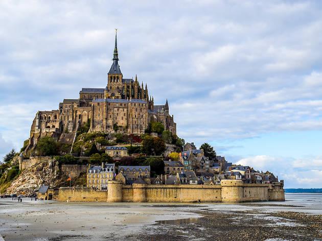 Mont Saint-Michel in Normandy