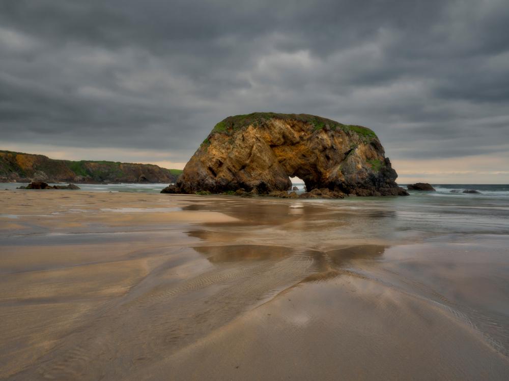 Playa de Peñarronda, Asturias