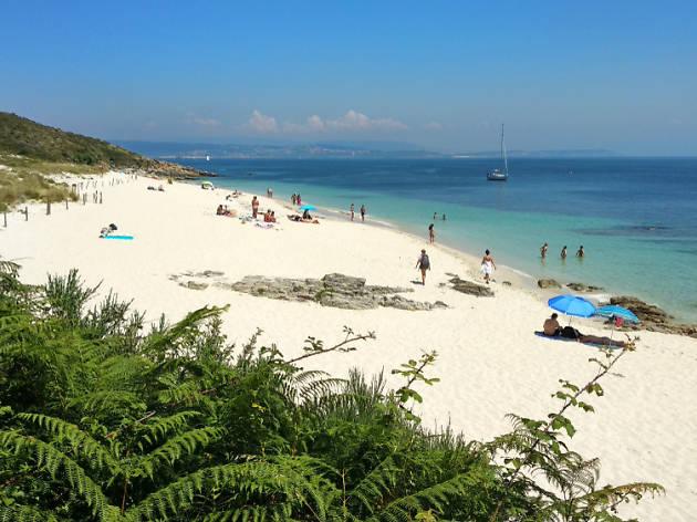 Playa de Melide, Isla de Ons