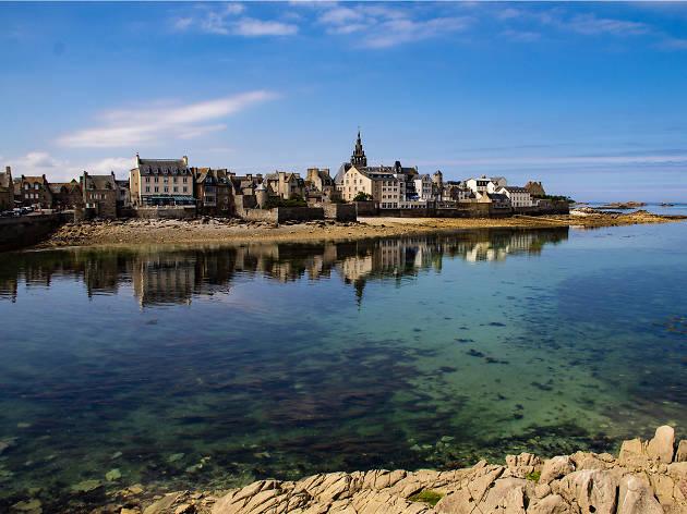 A town on the Breton coast