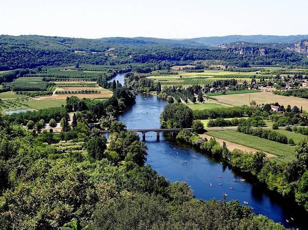 Dordogne river views