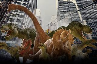 Dinosaurios en el Parque Interlomas