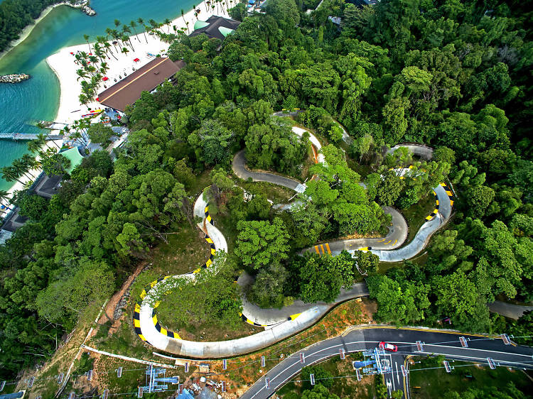 Live life in the fast lane at Skyline Luge Sentosa