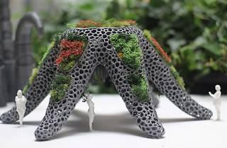 Dialogos interespecie para un jardin bionico Foto: UH513 (Maria Castellanos + Alberto Valverde)