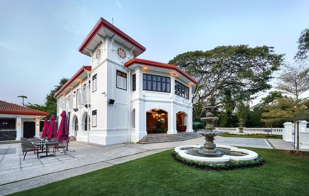 The Alkaff Mansion