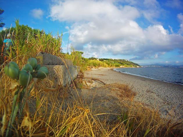 Pampelonne beach at Saint-Tropez