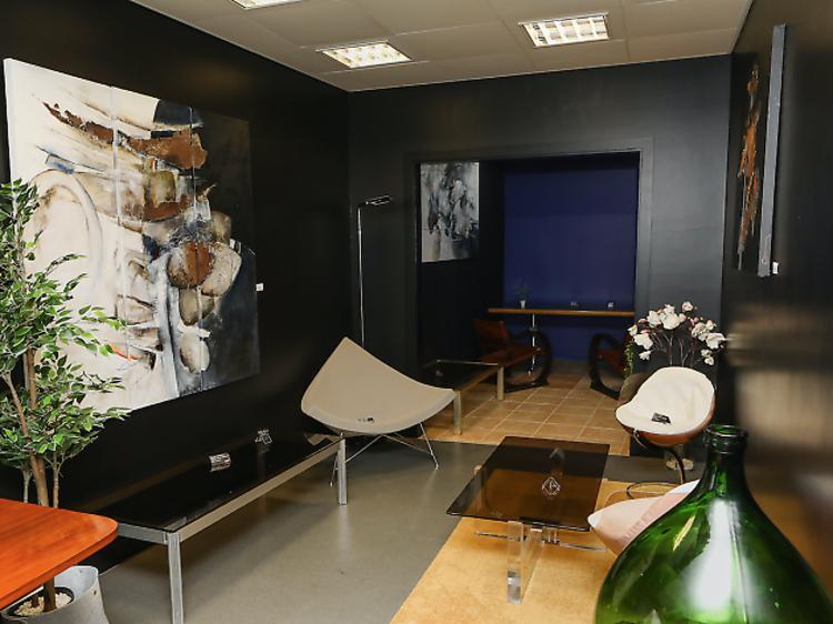 Salas de exposição