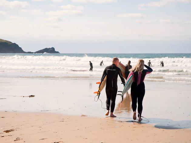 Fistral Beach, Cornwall