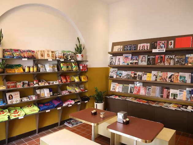 Import News is a new independent magazine shop with hard-to-find snacks