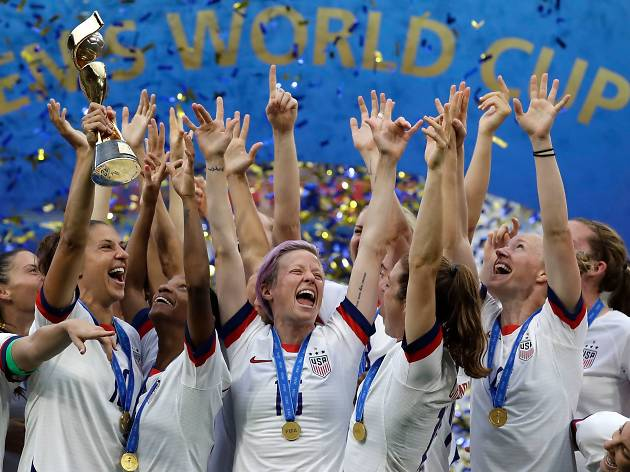 Women's World Cup champions will be honored with an NYC ticker-tape parade on Wednesday