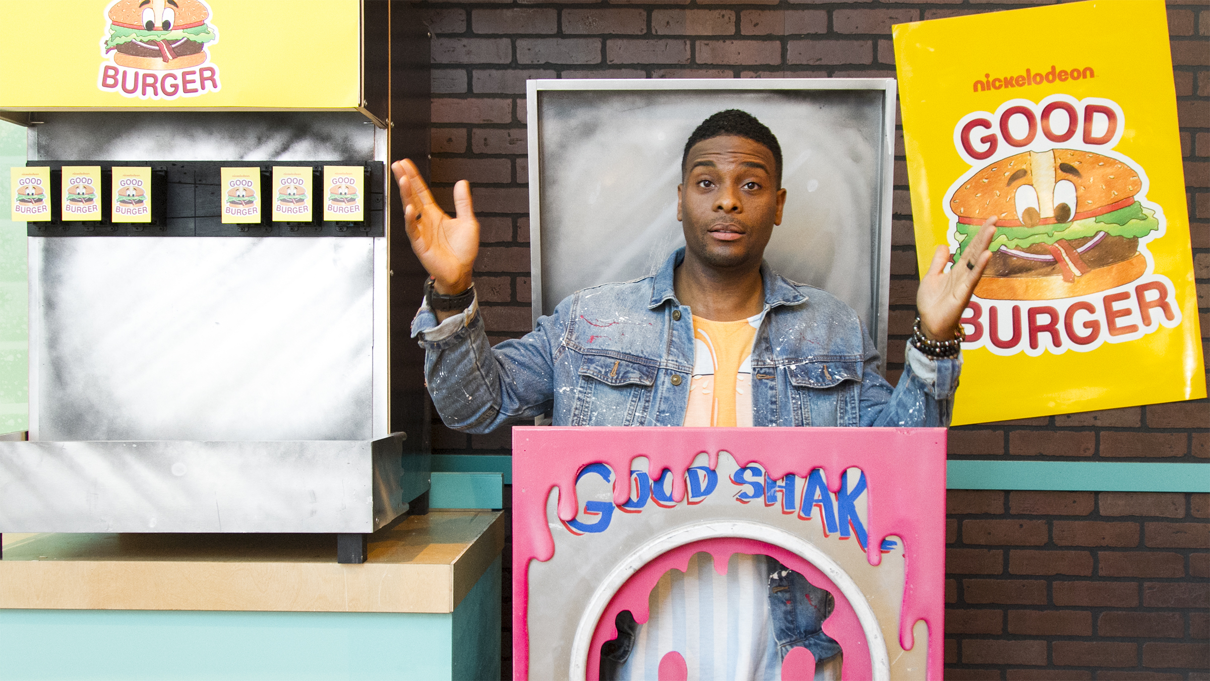 Good Burger pop-up restaurant Los Angeles Kel Mitchell All That West Hollywood