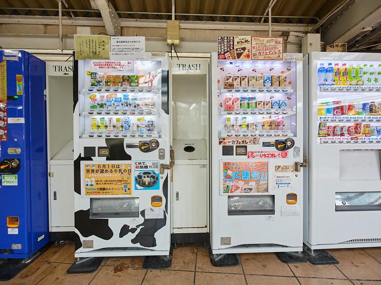 Milk vending machines