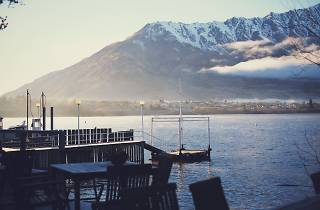 View from the Boat Shed, Queenstown