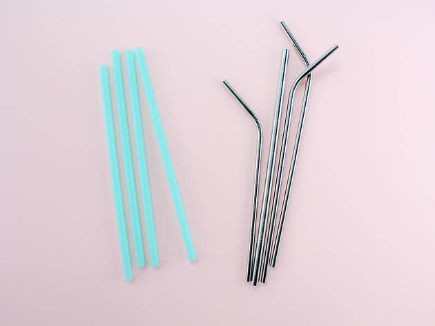 Reuseable straws