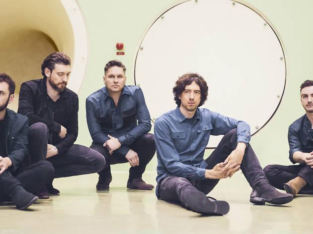 Press shot of the Snow Patrol band members