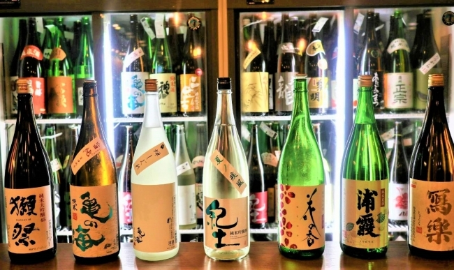 All you can drink sake for ¥500