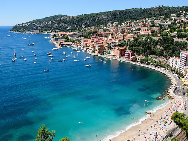 The bay at Villefranche-sur-Mer