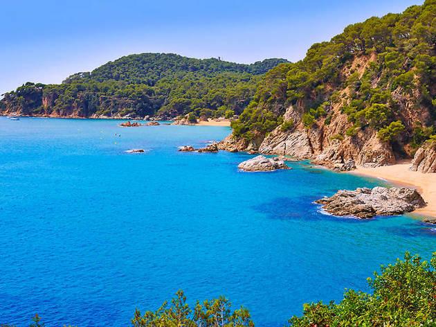 Platges íntimes de la Costa Brava