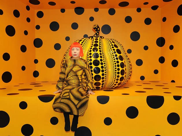 Yayoi Kusama is bringing infinity mirror rooms and massive pumpkins to the New York Botanical Garden