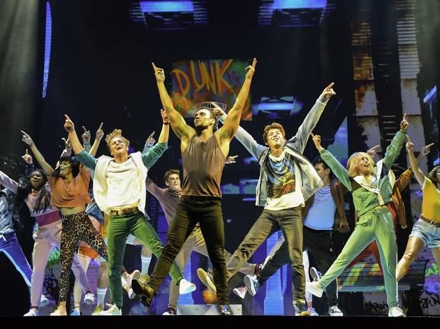 Saturday Night Fever choreography