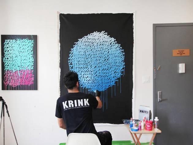 リカルド・ゴンザレス個展 -Writing is Painting-.