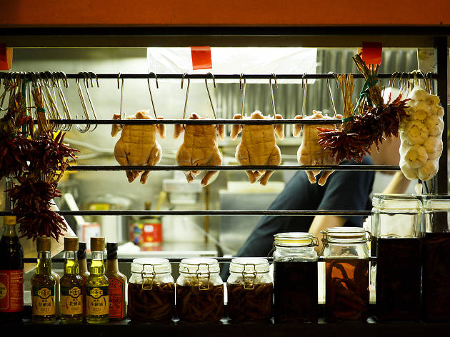上海チキン