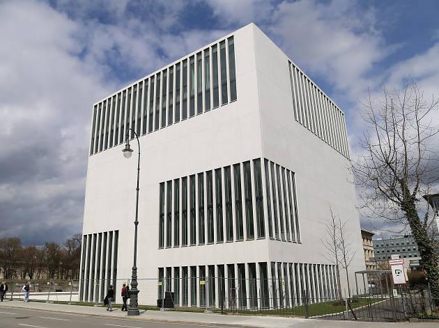 The exterior of war history museum NS-Dokumentationszentrum München in Munich