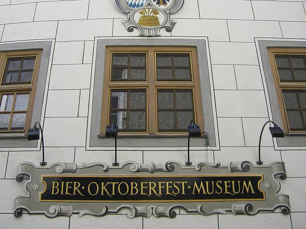 The frontage of Munich museum the Bier und Oktoberfestmuseum