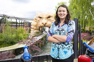 Michelle Hicks theme park ride designer