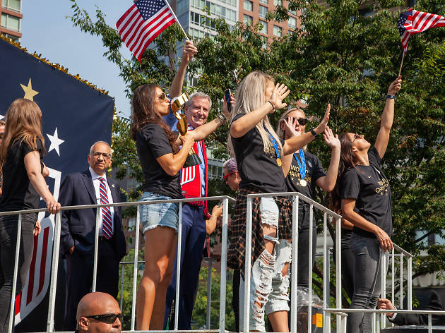 See photos from NYC's ticker-tape parade celebrating the USWNT's World Cup victory