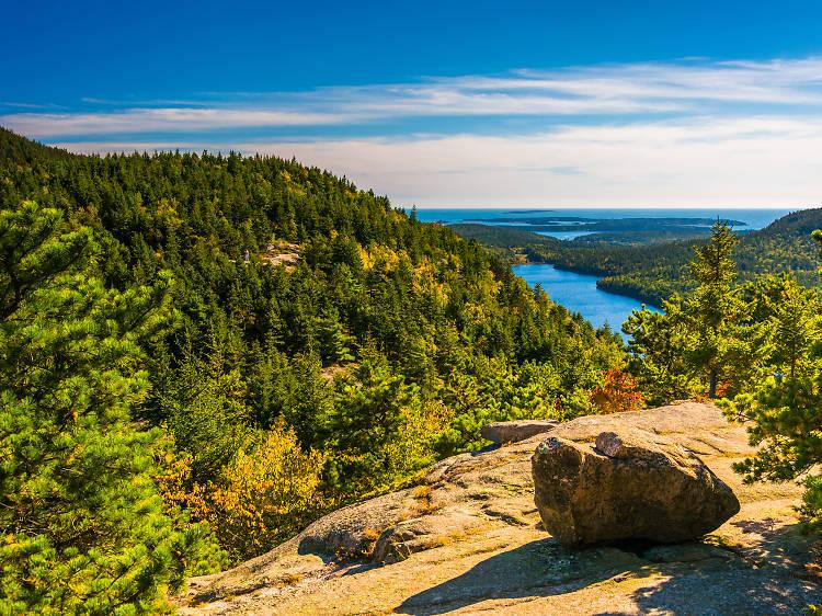 July: Acadia National Park and Mount Desert Island