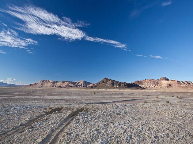 Black Road Desert