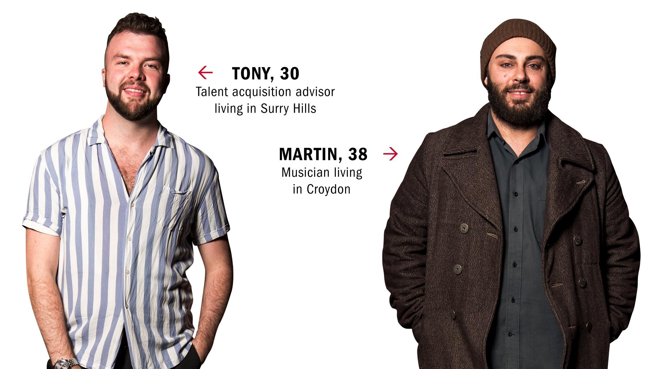Dating IRL: Martin and Tony