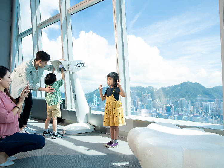 Unlock Hong Kong's future skyline with the Charm Points Sky Scanner