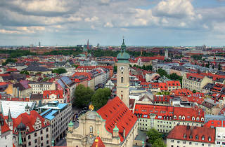 The Munich cityscape