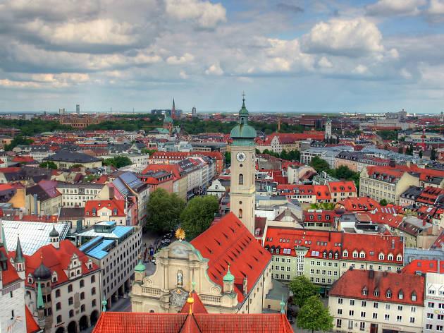 The Munich cityscape