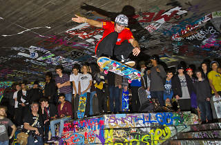 The Undercroft skate space