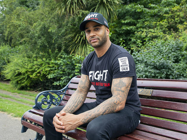 Leon McKenzie, pro footballer and boxer