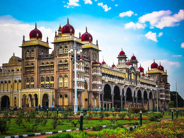 Mysore Palace and gardens