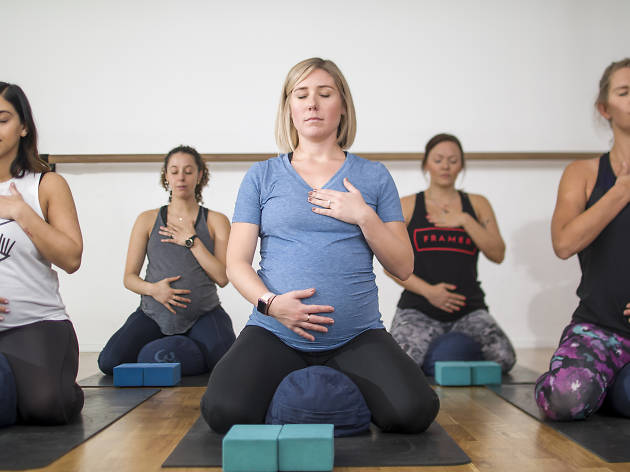 Frame Pregnancy yoga