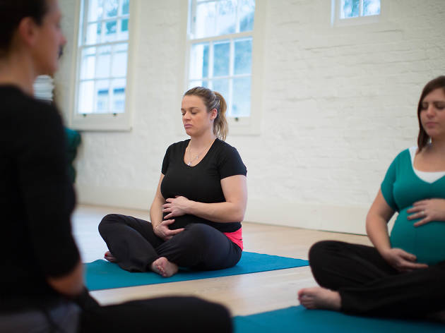 Yoga loft pregnancy yoga