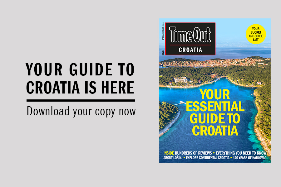 Download your free copy of Time Out Croatia now