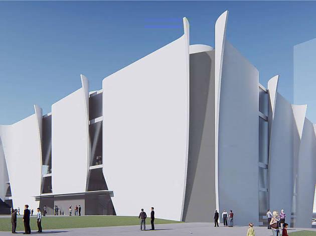 Així d'imponent lluiria el Museu Hermitage de Barcelona de Toyo Ito