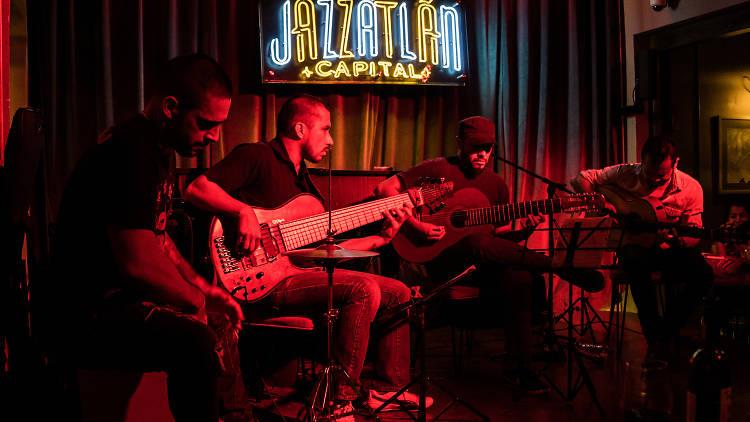 Jazzatlán Capital, jazz en la Roma