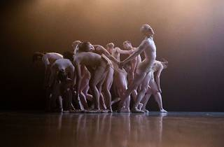 Peridance Band performs at the Tel Aviv Dance Festival