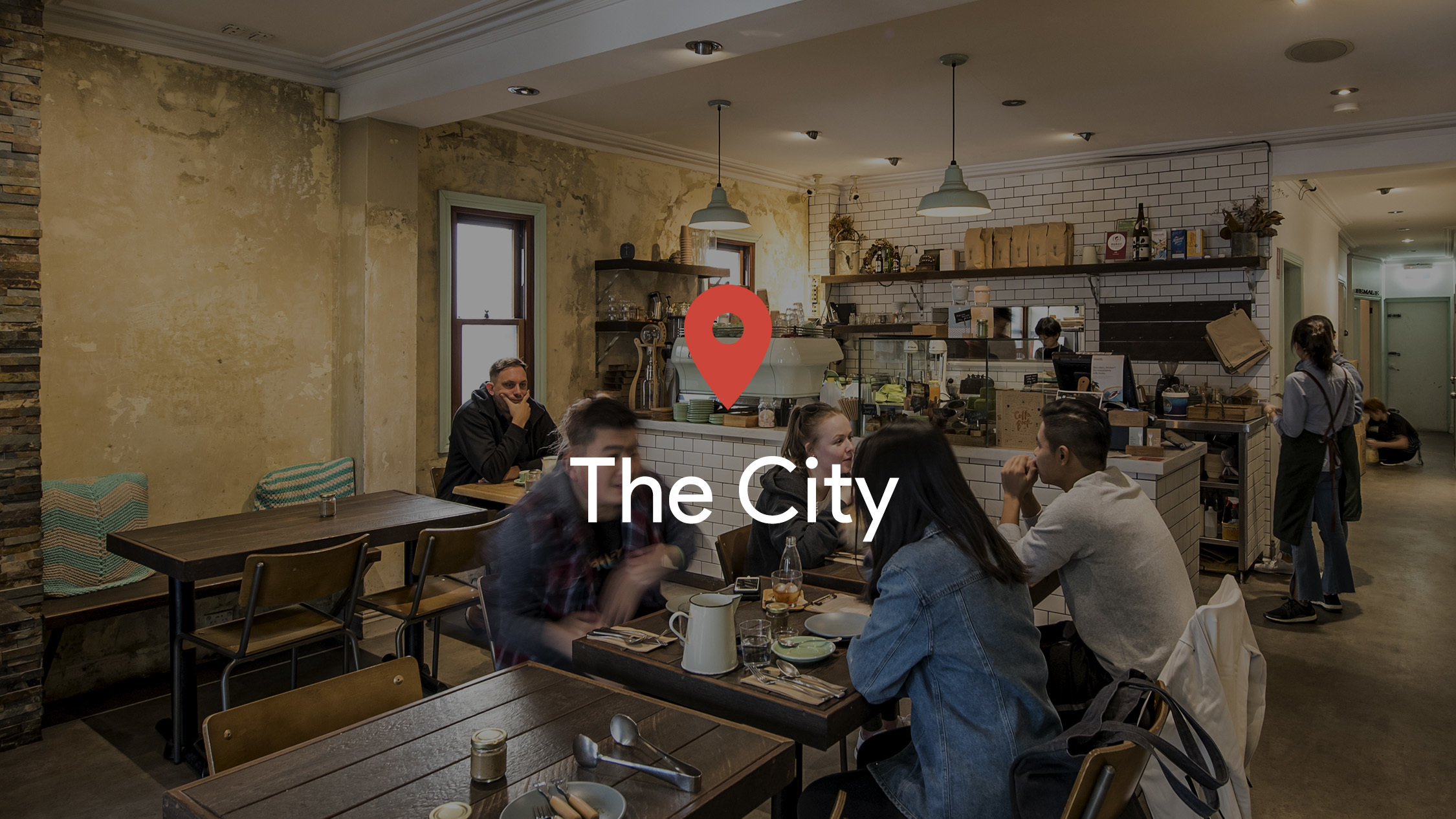 Drop a pin in: The City