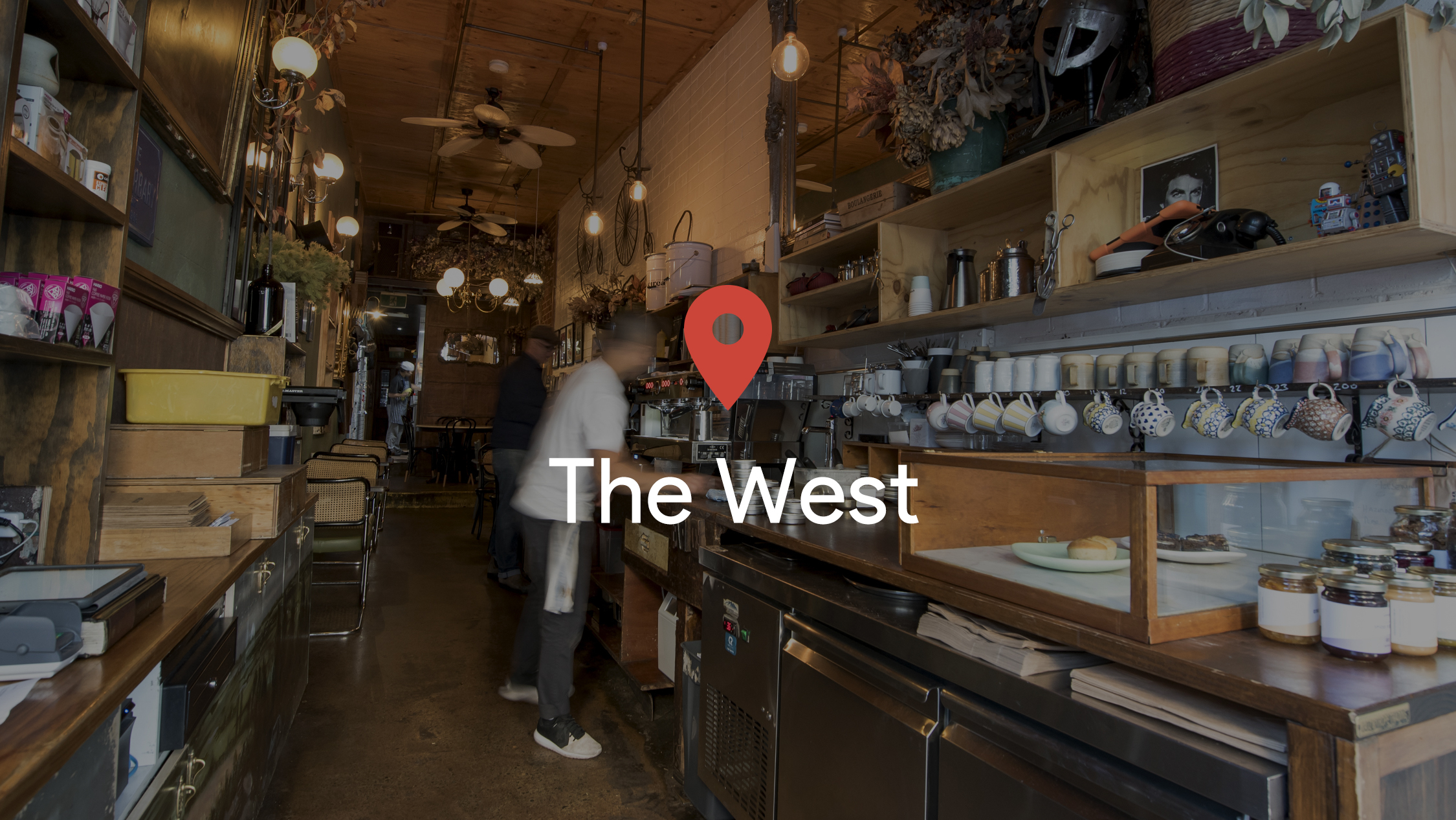 Drop a pin in: The West