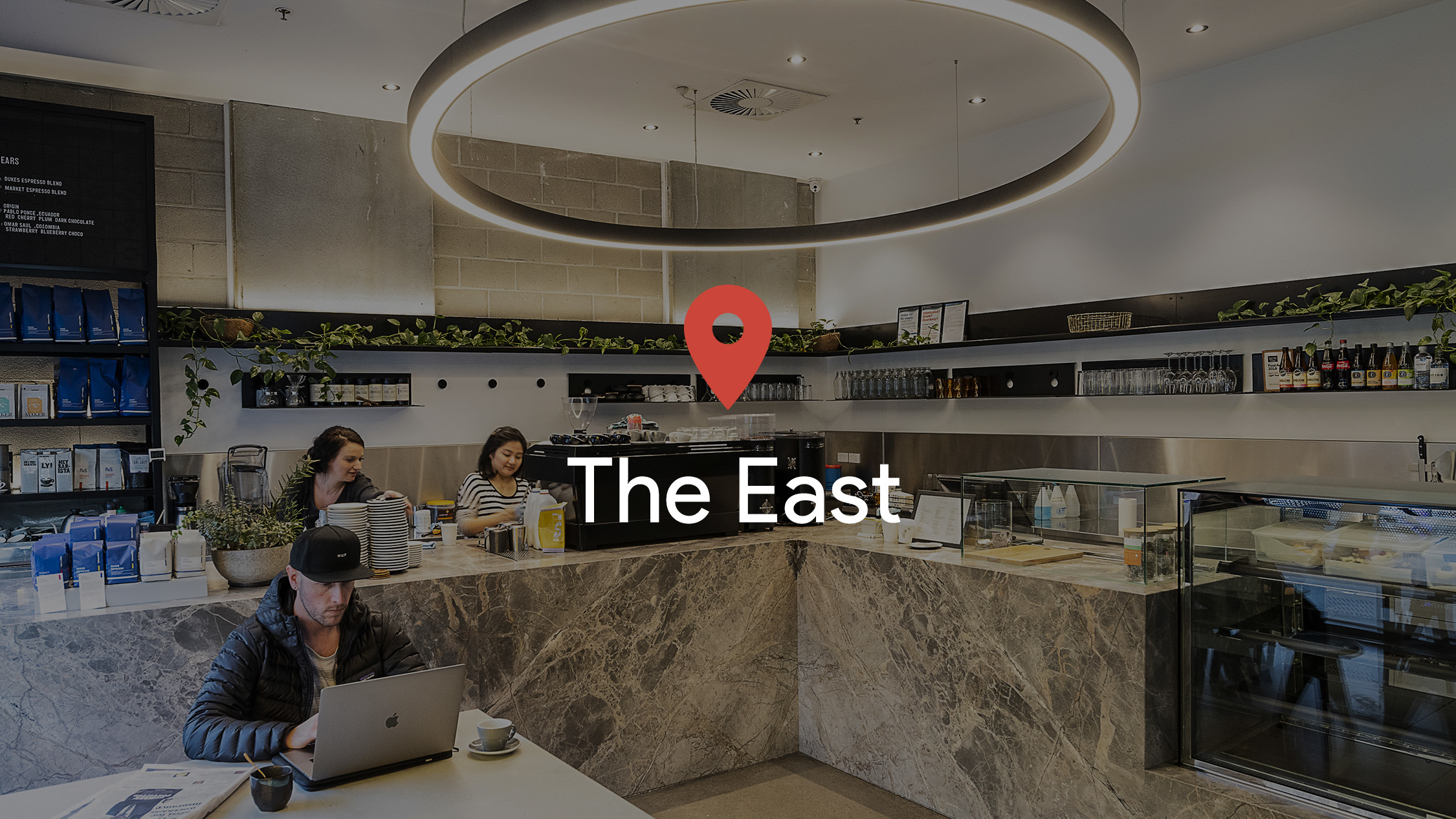 Drop a pin in: The East